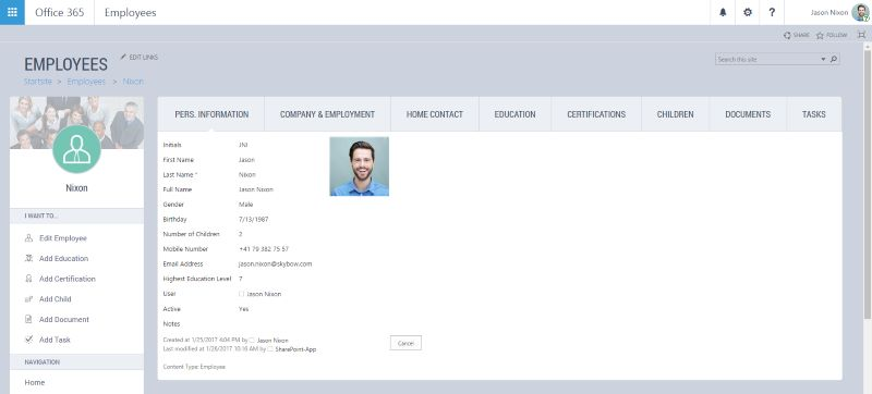 Custom User Interface on SharePoint realized with Theme Designer