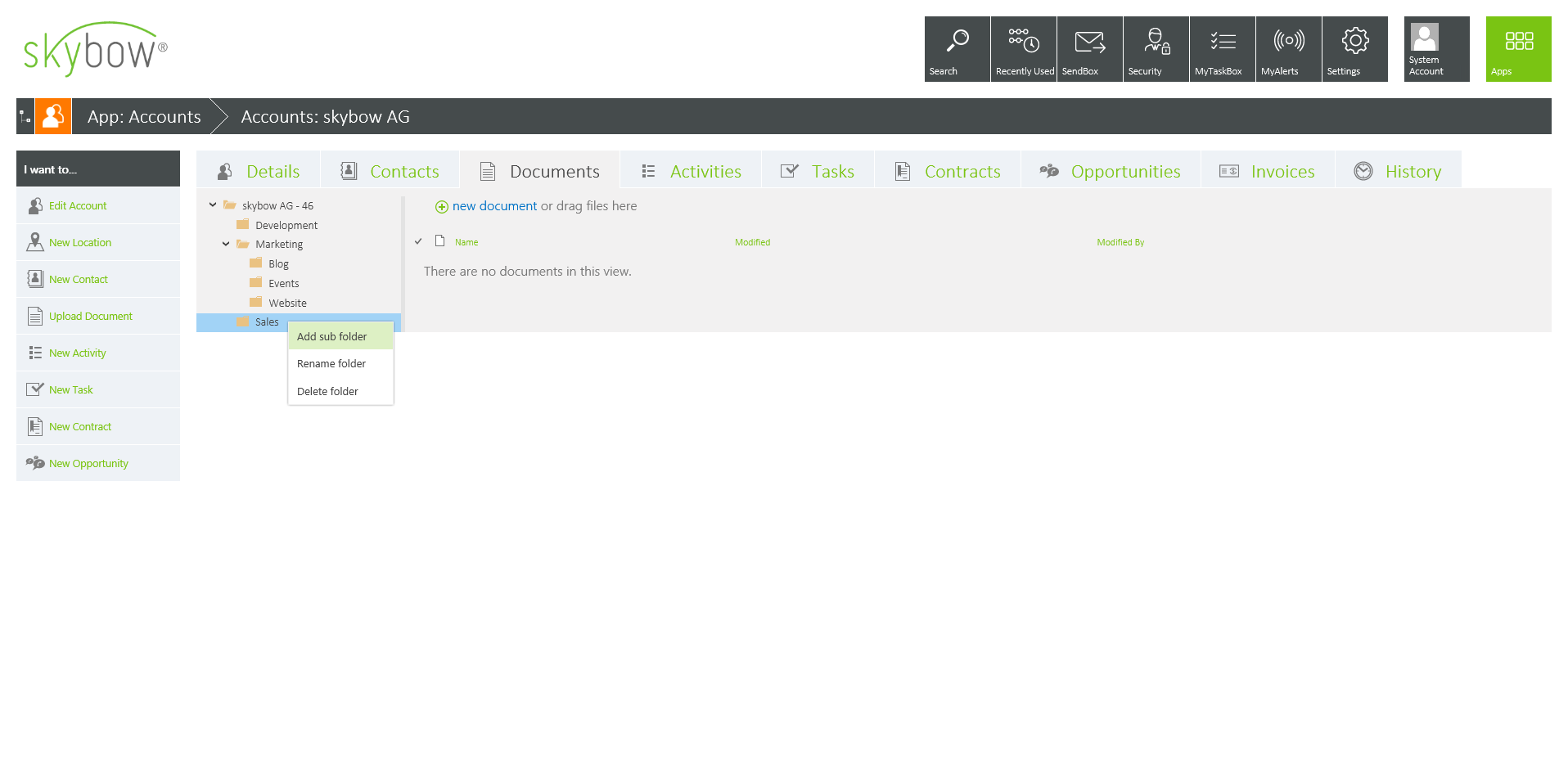 Document Library View