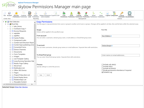 skybow SharePoint Add-Ins: Our single building blocks like