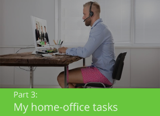 Part 3: my home-office tasks