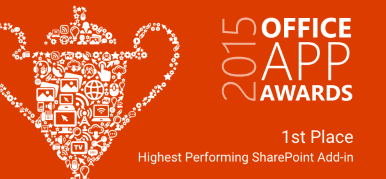 2015 Office App Awards 1st Place