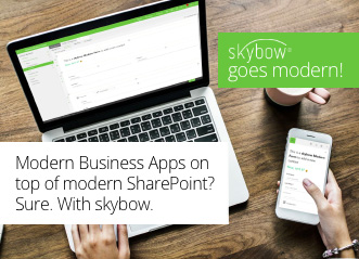 Featured-Image-Modern-Business-Apps-on-top-of-modern-SharePoint-Sure-With-skybow